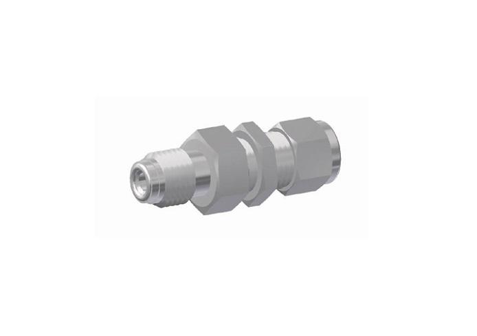Rdcb tube fitting bulkhead connector on dk lok usa