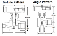 VB16-Series-Integral-Bonnet-Needle-Valves-Dimensional-Drawing