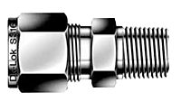 DMC-N Male Connector Tube Fittings
