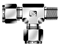 DTRM-N Male Run Tee Tube Fittings