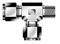 DTRM-R Male Run Tee Tube Fittings