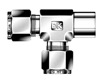 DTRF-N Female Run Tee Tube Fittings