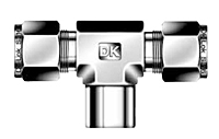 DTBF-N Female Branch Tee Tube Fittings
