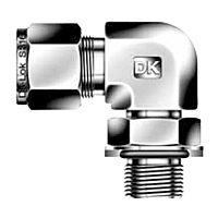 DLM-GP Positionable Male Elbow ISO Parallel Thread Tube Fittings