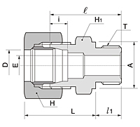 BOM Series Male Connector Fittings-2