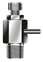 BAP-2 Series Metric Air Purge Valves (Thread End)