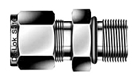 DMCS-U Non-Positionable SAE Male Connector Tube Fittings