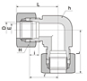 BL Series Union Elbow Fittings-2
