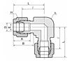 DL Union Elbow Tube Fittings-2
