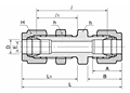 DUB Bulkhead Union Tube Fittings-2