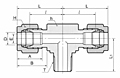 DTBM-N Male Branch Tee Tube Fittings-2
